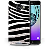 Coque de Stuff4 / Coque pour Samsung Galaxy A3 (2016) / Zèbre Design / Motif Fourrure Animale Collection