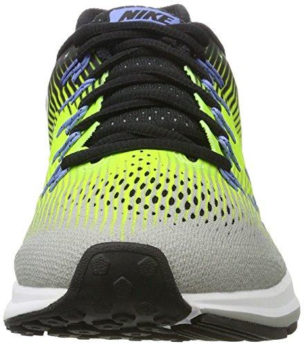 Nike Uomo Air Zoom Pegasus 33 Scarpe Da Corsa Multicolore (argento Opaco / Bianco-volt-nero)