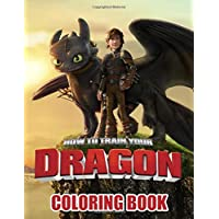 How To Train Your Dragon Coloring Book: For Kids Ages 4-8 (Rainbow Books Coloring Books) Unofficial