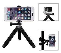Aperçu de RM-95:Conçu pour smartphone, le mini-trépied flexible de Fotopro peut se pose sur une table ou s'accroche à un arbre pendant prenez les photos. Il est une très bon choix pour les amateurs de photographie mobile. Un bon compagnon pour photog...