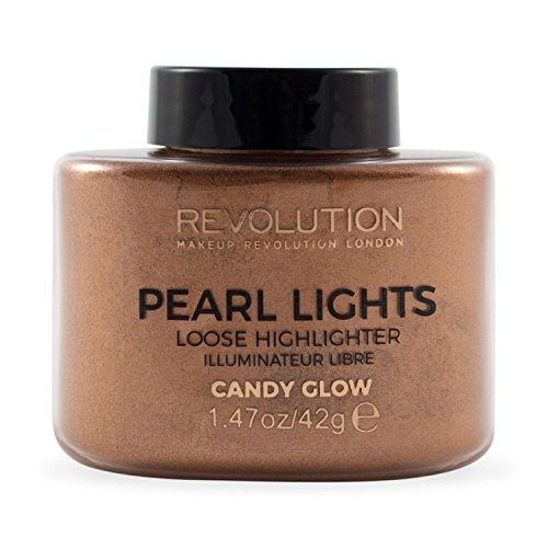 Makeup Revolution Pearl Lights Loose Highlighter Candy Glow Puder rozświetlający sypki 25g