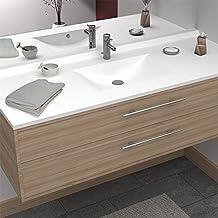 Amazon Fr Meuble Salle De Bain 120 Cm Simple Vasque