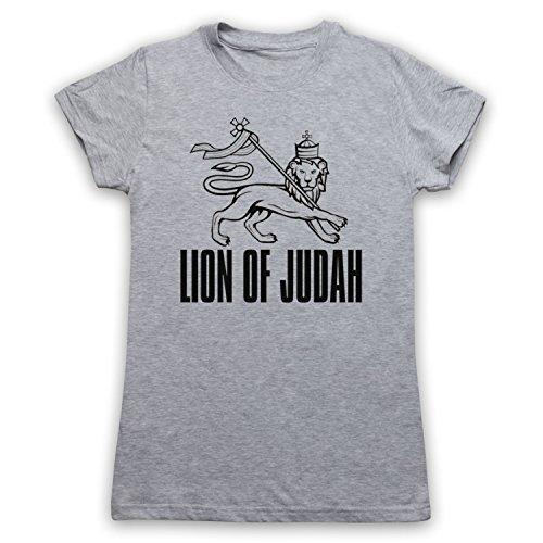 Lion Of Judah Israelite Tribe Damen T-Shirt Grau