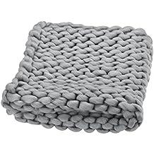 suchergebnis auf f r gestrickte decke grau. Black Bedroom Furniture Sets. Home Design Ideas