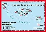 Azoren: Die schönsten Küsten- und Bergwanderungen - 86 Touren - Mit GPS-Tracks (Rother Wanderführer) - Roman Martin