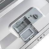 Klarstein Amazonia 6 Argentea Spülmaschine Tischgeschirrspülmaschine (1380 Watt, 55 cm breit, 6 Maßgedecke, geräuscharm, 6 Programme, Aquastop, LED-Kontrollleuchten) silber -