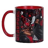 Deadpool Marvel Comic Tasse Rundum Druck Elbenwald Keramik rot
