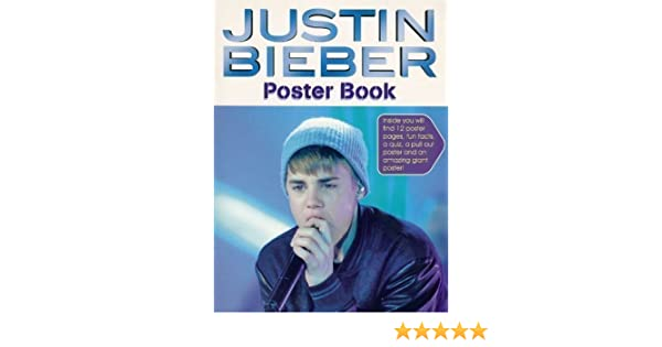 Justin Bieber Poster Book Amazoncouk Toys Games