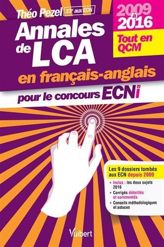 Annales de LCA pour le concours ECNi : 2009 à 2016 par From Vuibert