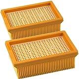 DeClean 2 Lamellenfilter Luftfilter Patronenfilter Filter Ersatz für Kärcher WD 5, WD 5 P, WD 5 Premium/Renovation Kit