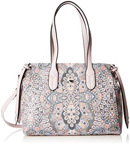TOM TAILOR Shopper Damen, Susan, Mehrfarbig (Paisley), 37x23x12 cm, Schultertasche, Tom Tailor Handtaschen Damen