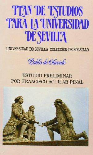 Plan de estudios para la universidad de Sevilla