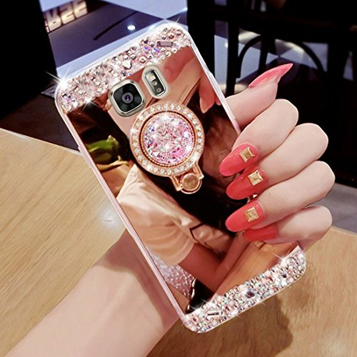 hancda-mirror-case-for-samsung-galaxy-s6-case-cover-bling-glitter-diamond-sparkle-case-with-bling-ri