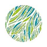 Wingbind Tabelle Aufkleber Cover, Möbel Aufkleber, Selbstklebende Vinyl-Filmzitate, gemusterte Wasserdichte Runde Boden Aufkleber, Aufkleber für Home Office Shops Raumdekoration