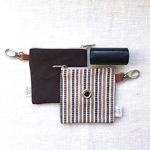 Easybag Choco Stripe – Portasacchettini igienici per cane