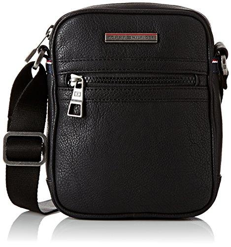 Tommy Hilfiger Essential Mini Reporter, Borse Uomo, Nero (Black), 5x20x16 cm (L x H x D)