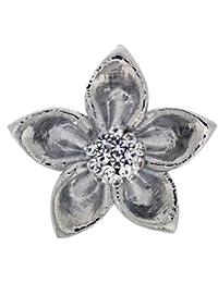 Jodie Rose - 16302 - Broche Femme - Métal - Cristal