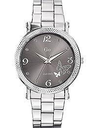 Go Girl Only Damen-Armbanduhr 694792–Armbanduhr 1076312Analog Stahl Silber