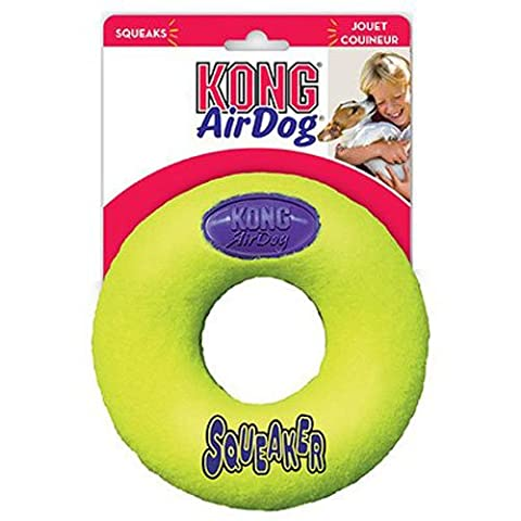 Kong Air Kong Jouet Forme Donut avec Son pour Chien Taille M