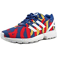 adidas ZX Flux W Bleu/Blanc/Rouge S77313 (Taille: 7,5