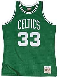 Mitchell & Ness Larry Bird Boston Celtics NBA Throwback HWC Jersey – Verde ...