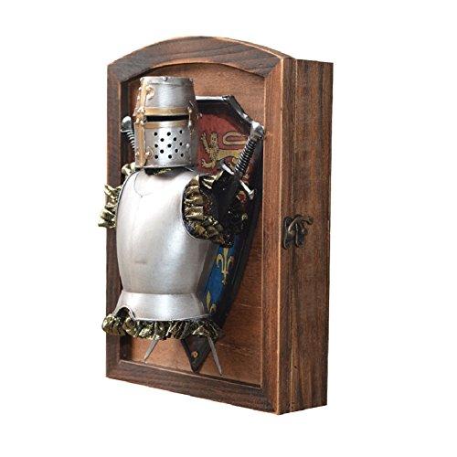home-organizer Tech dekorativer Holz Wandhalterung Schlüsselkasten Schlüsselkasten mit 6Haken-Wall Decor Haken Key Organizer für, holz, Typ C, M