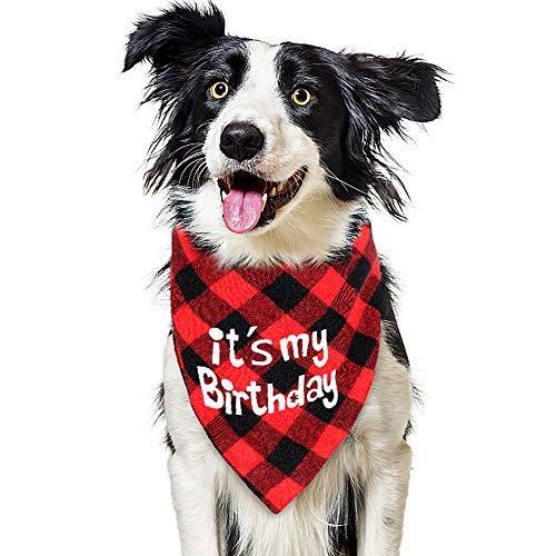 VAMEI Cane Bandana Collare Bavaglino per Animali Domestici Sciarpa a Triangolo rovesciabile a Triangolo per Cani Costume per Gatti