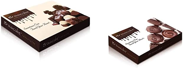 Browncube Chocolate Assorted Chocolates 150+60 Grm. Box