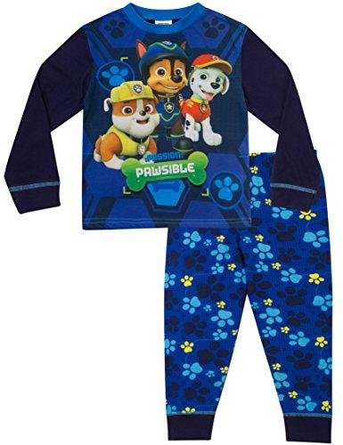 Paw Patrol Pyjamas Boys 3 to 7 Years Nick Jr Pyjama Pjs W17 Blue