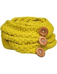 UMIPUBO Bufanda Mujer Invierno Cuello Bufanda Knit Cálido Cable Knit Cuello de la Bufanda