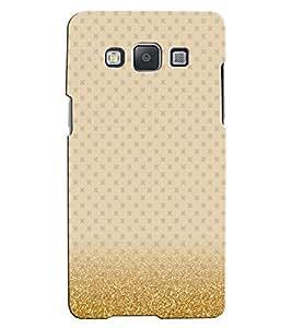 Citydreamz Golden Texture Print Hard Polycarbonate Designer Back Case Cover For Samsung Galaxy Core 2 G355H