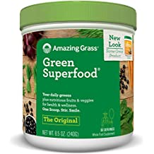 Green Superfood All Natural Drink Powder (8.5oz, 30 Day Supply)