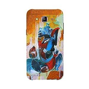 Back cover for Samsung Galaxy J3 Shree Ganesha