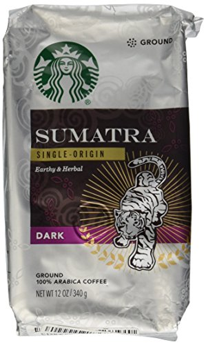 A photograph of Starbucks Sumatra