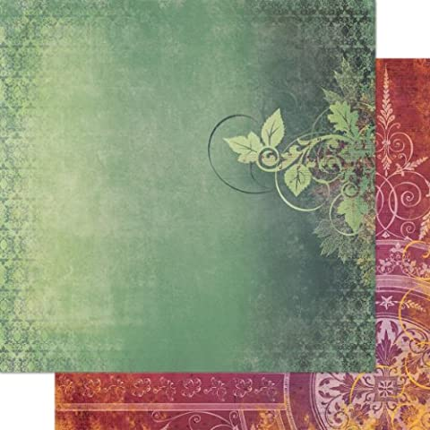BoBunny automne Mélodie chanson Papier, multicolore