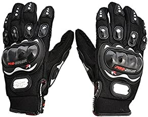FUEL Pro-Biker Motorcycle/Bike Riding Gloves XL Size-Black