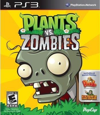 Plants Vs. Zombies (Englisch Import) PS3 (Pflanzen Warfare Garden Zombies Vs)