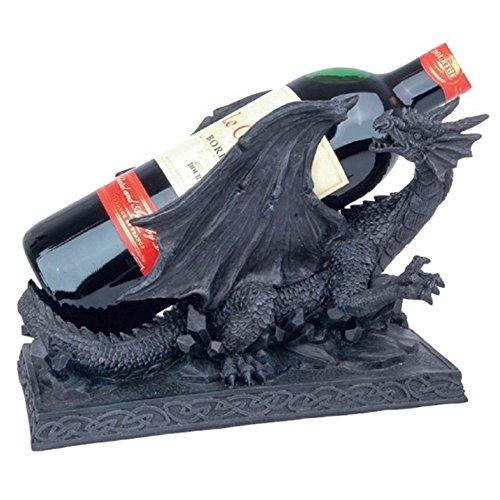 Drachen Weinflaschenhalter Gothic Fantasy Halloween Dekoration
