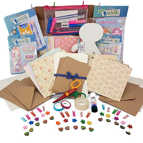 Craft starter kit - Card making - hobby kit - paper crafts