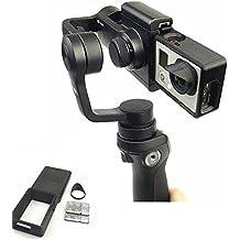 kingwon cámara Hero 5/433+ Pantalla Plana adaptador interruptor placa con Sun campana para Osmo–Funda para Handheld Gimbal conneting GoPro héroe accesorios