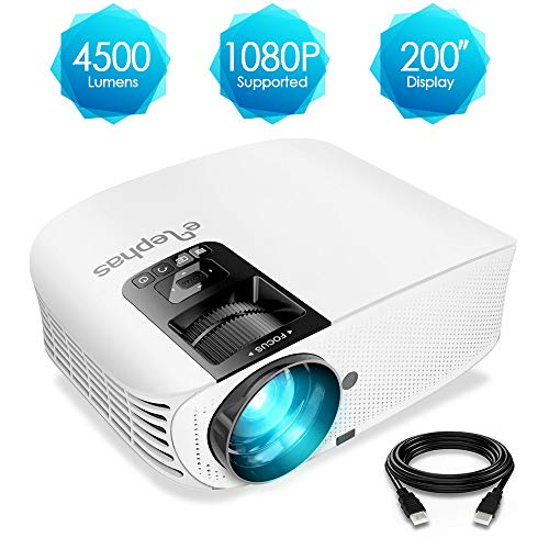 ELEPHAS Projector, 4500 Lumens H...