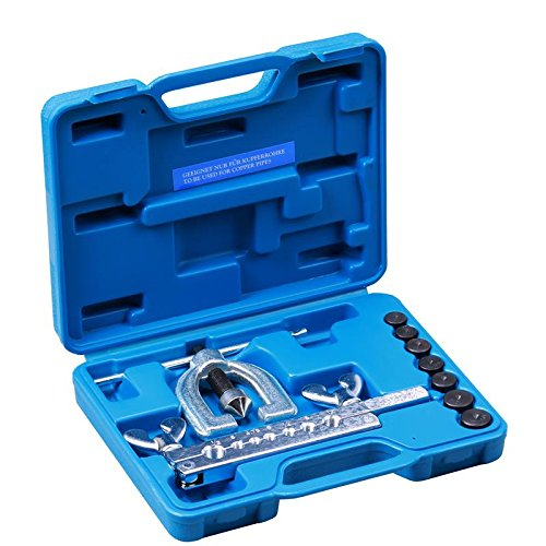 Bremsleitung Bördelgerät 9-tg für Kupferrohre Kfz Werkzeug Bremsleitung bördeln