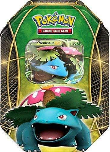 Lively Moments Pokemon Karten Tin Box Venusaur-EX EN Englisch Promo Trading Card Game / Metallbox