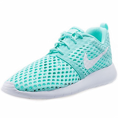 Nike Roshe One Flight Weight Gs, Entraînement de course fille Turquesa (Turquesa (Hyper Turq / White))