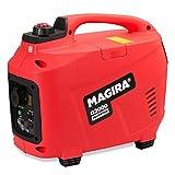 MAGIRA 2,0kW Digitaler Inverter Stromerzeuger, benzinbetriebener Generator : 800W (0,8kW) - 7000W (7,0kW)