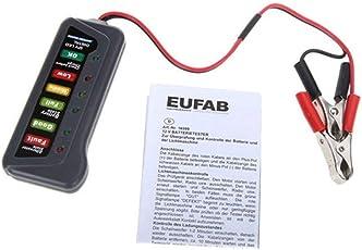 Hemore tester per la batteria dell'auto, Automotive Tirol 12 Volt LED batteria alternatore tester auto camion auto veicolo di (View amazon detail page)