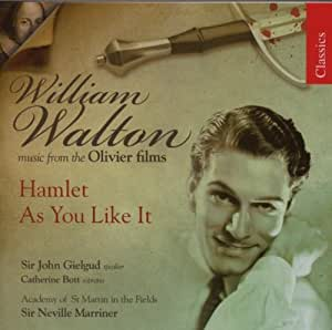William Walton: Musik aus Laurence Olivier-Filmen - Hamlet. / As You Like It