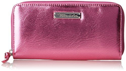Tamaris Damen Debra Big Zip Around Wallet Geldbörse, Pink (Pink), 2x10x19,5 cm (Damen Zip-around Wallet Zehn)