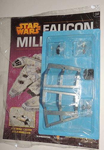 FALKEN Millenium Altaya DeAgostini Star Wars Millennium Falcon Technische bauen die Modellbau Blisterverpackung N04