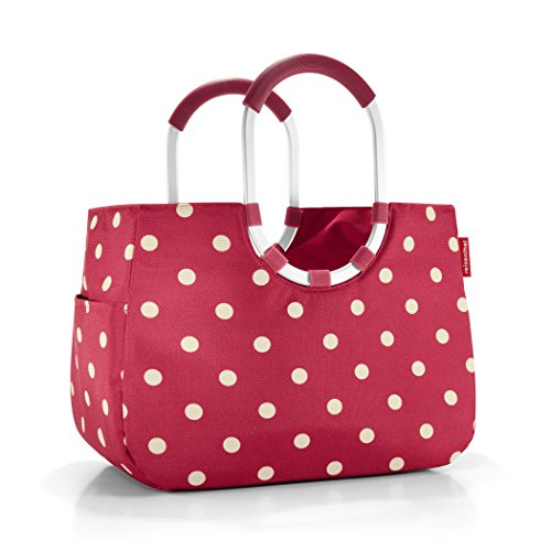 Reisenthel Loopshopper CC0384 Large Shopping Bag Ruby with Dots